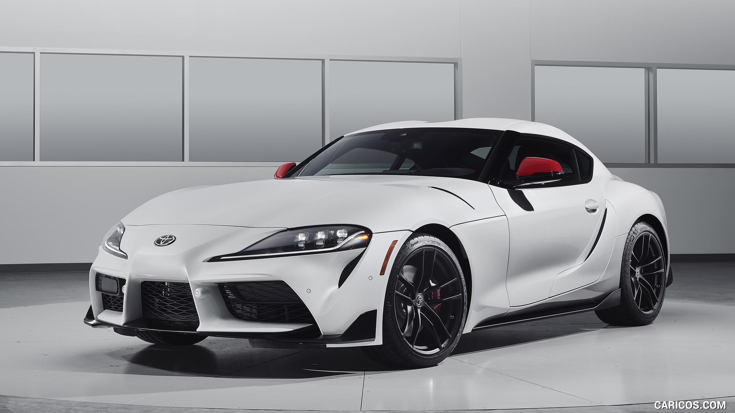 2020 Toyota Supra Launch Edition   Front Three Quarter HD 2560x1440