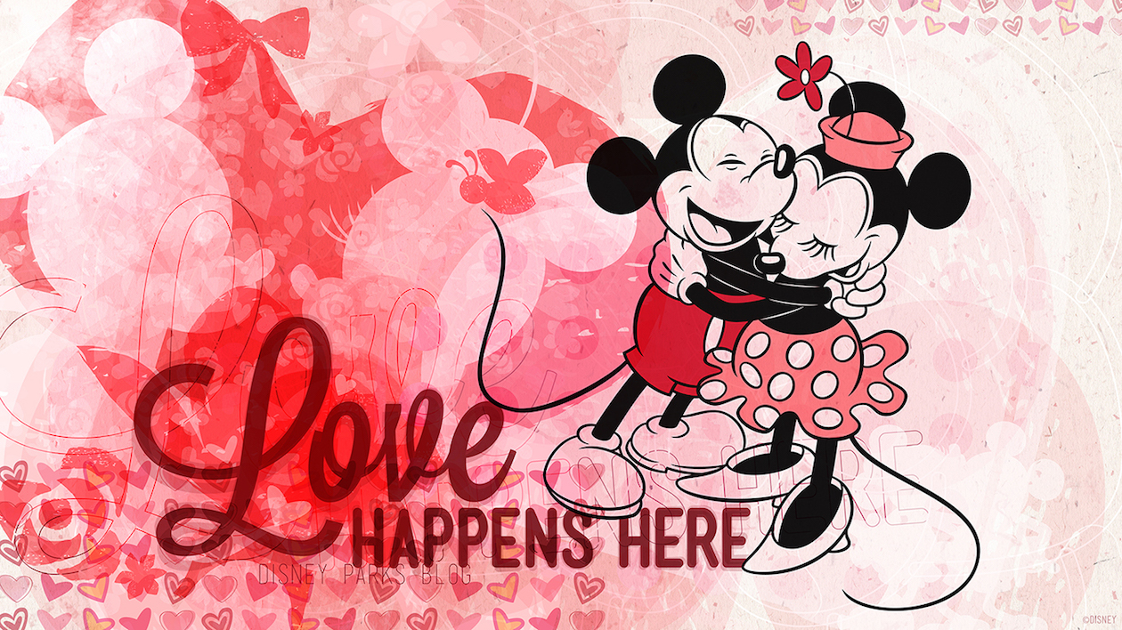 Download Our Disney Parks Valentines Day Wallpapers Disney 1260x708