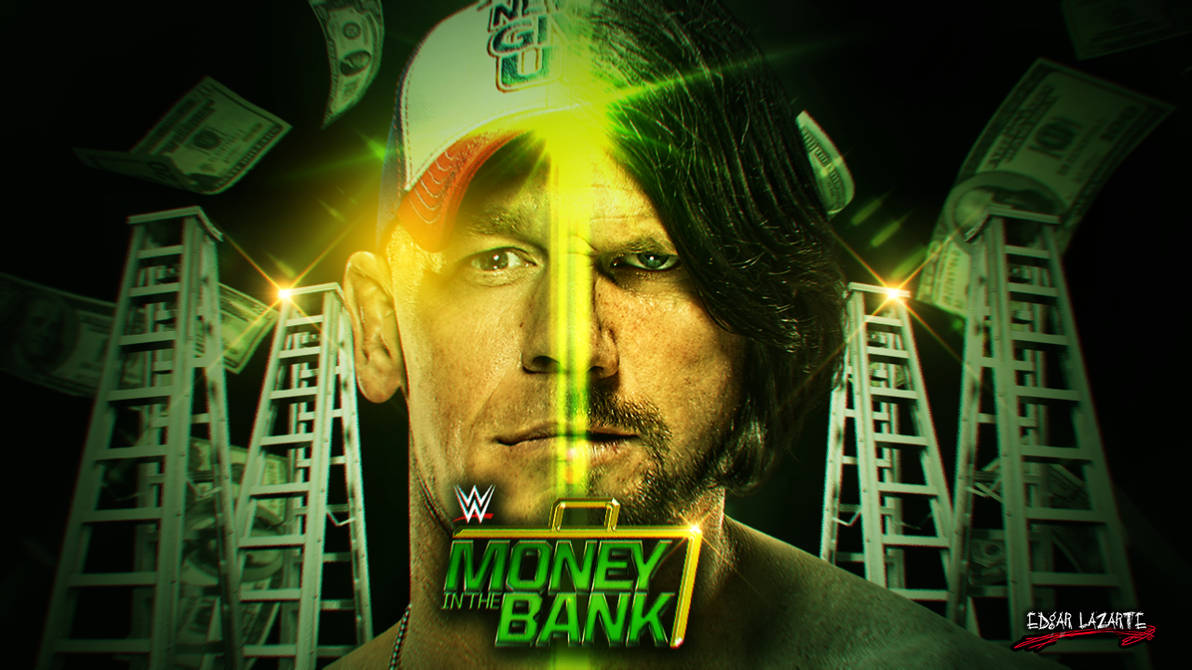 WWE Money In The Bank 2016 Custom Wallpaper [HD] by EdgarLazarte 1192x670