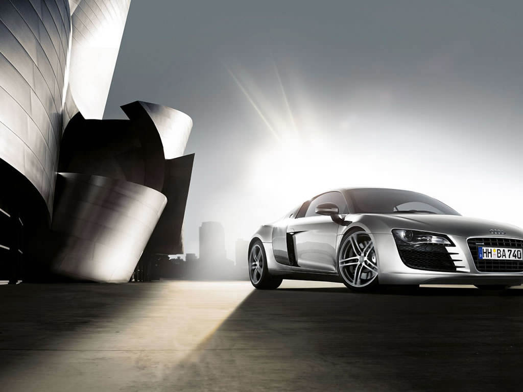 Desktops Backgrounds Car Wallpapers Audi Wallpapers   Audi R8 Desktop 1024x768