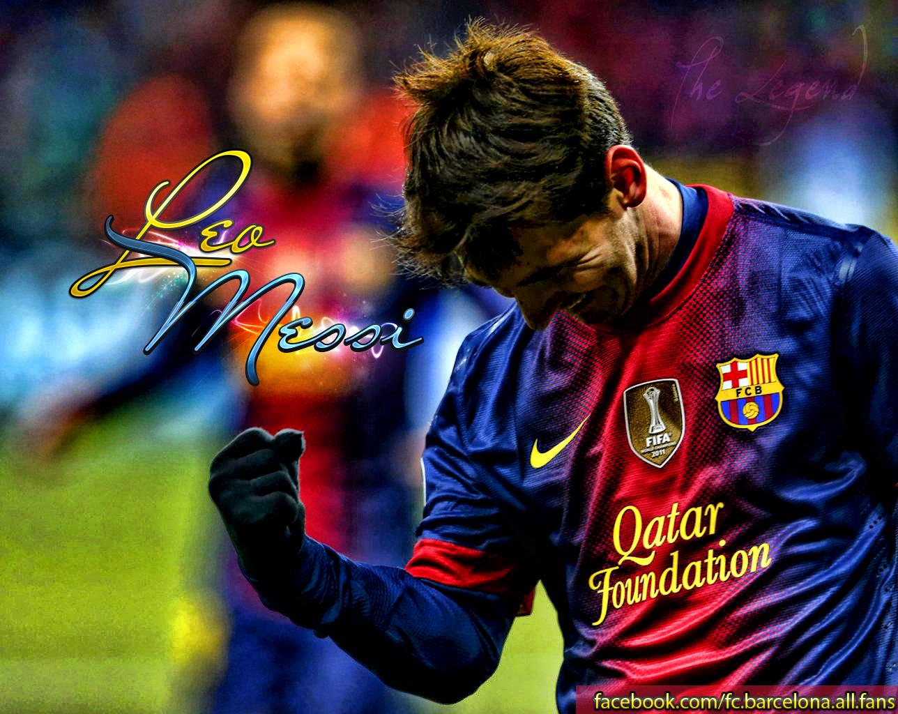 Sports Legend Lionel Messi Wallpaper 3 1288x1024