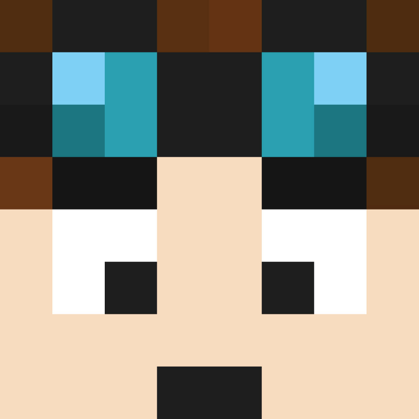 DanTDM Face Wall Decal The Diamond Minecart by WilsonGraphics 864x864