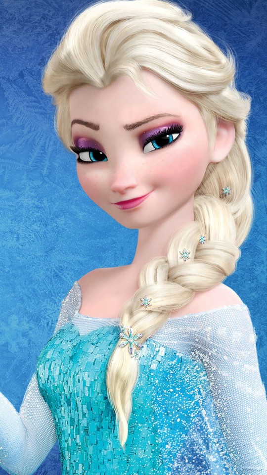Frozen Snow Queen Elsa Wallpaper   iPhone Wallpapers 540x960