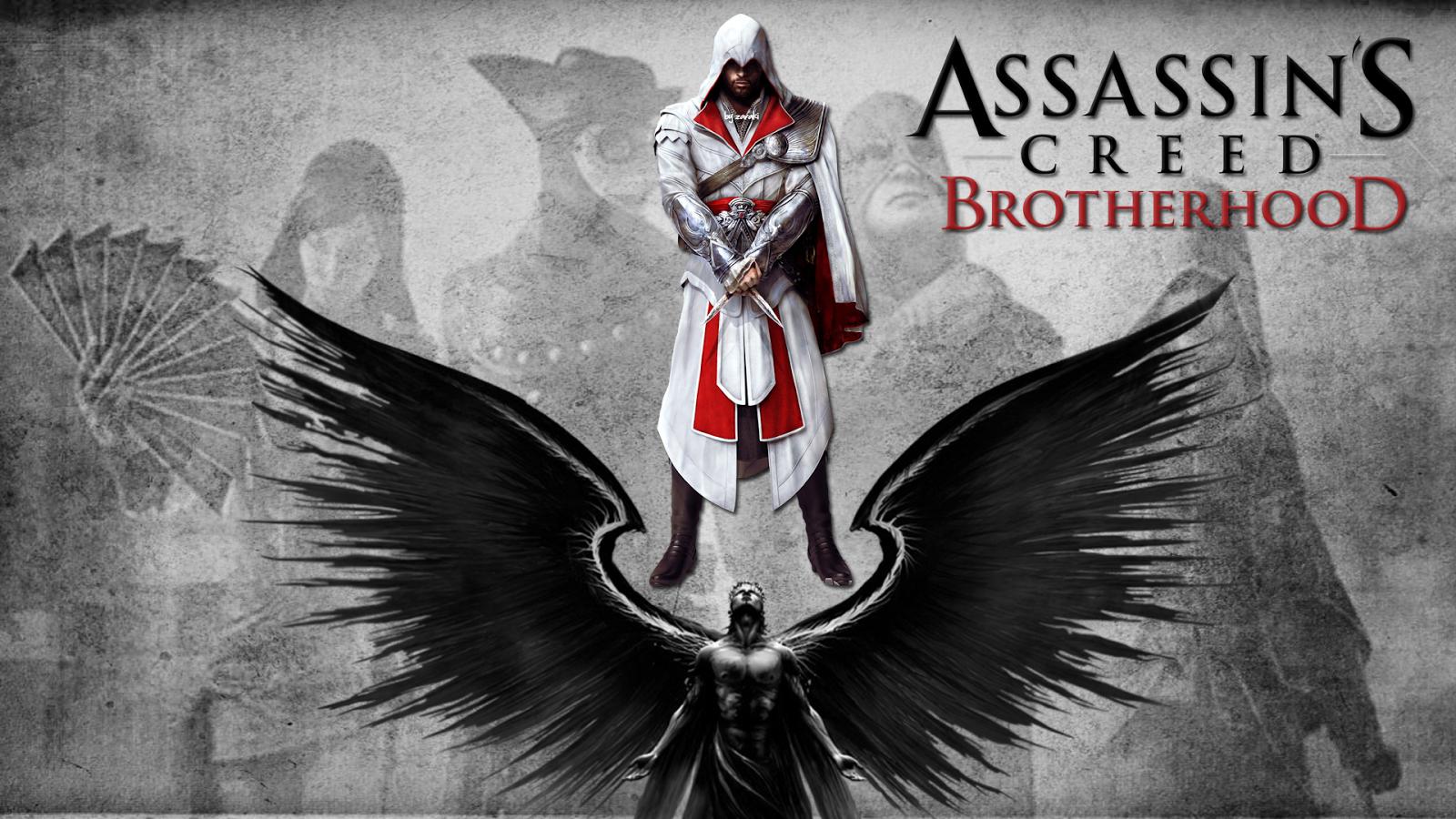 Desktop HD Wallpapers Assassins Creed Brotherhood Wallpapers HD 1600x900