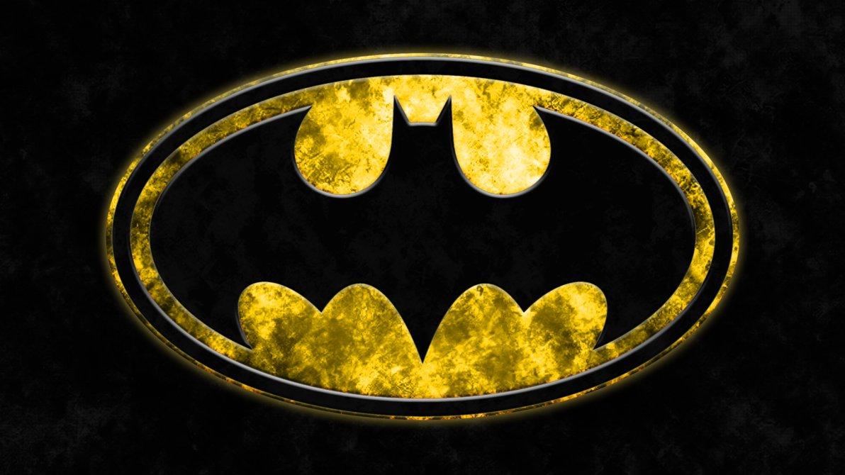 Batman Grunge Logo Wallpaper by RussJericho23 1192x670
