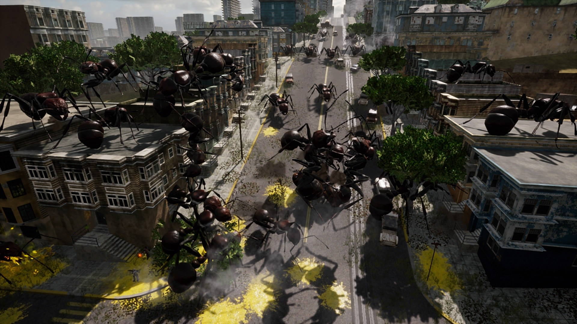 Earth Defense Force Iron Rain Releases New Tokyo Game Show 2018 1920x1080