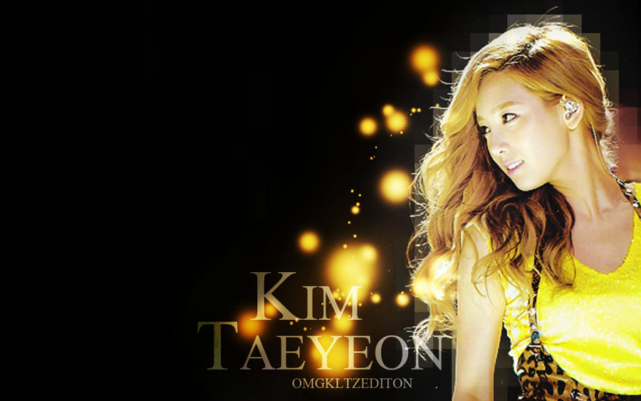 Wallpaper Kim Taeyeon   pedido CutteTifanny by OmgKltzEdition on 900x563
