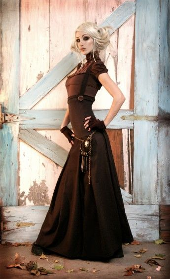 Kato Steampunk Dress steampunk dress. i'm telling you, i might have a ...
