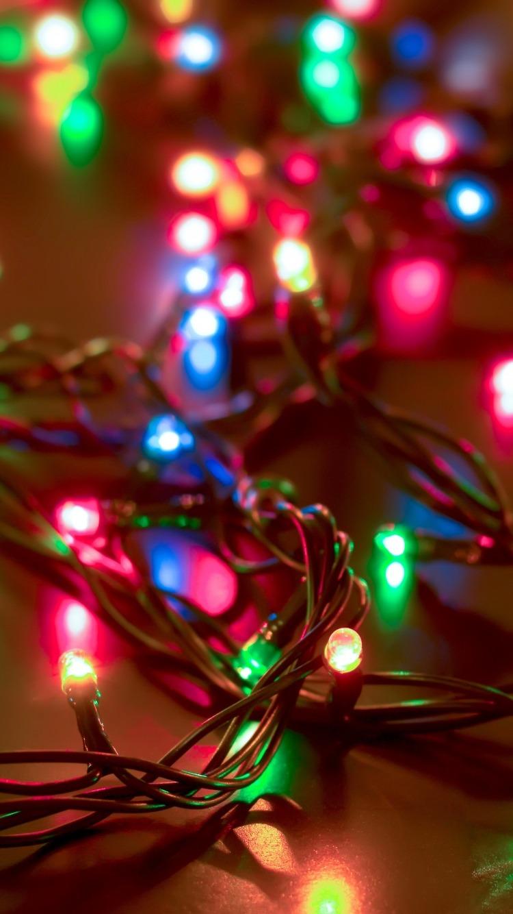 Christmas Lights Iphone Wallpaper sanjonmotel 750x1334