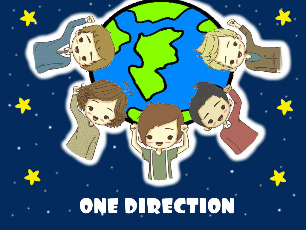 One Direction Anime One direction cartoon 1024x768
