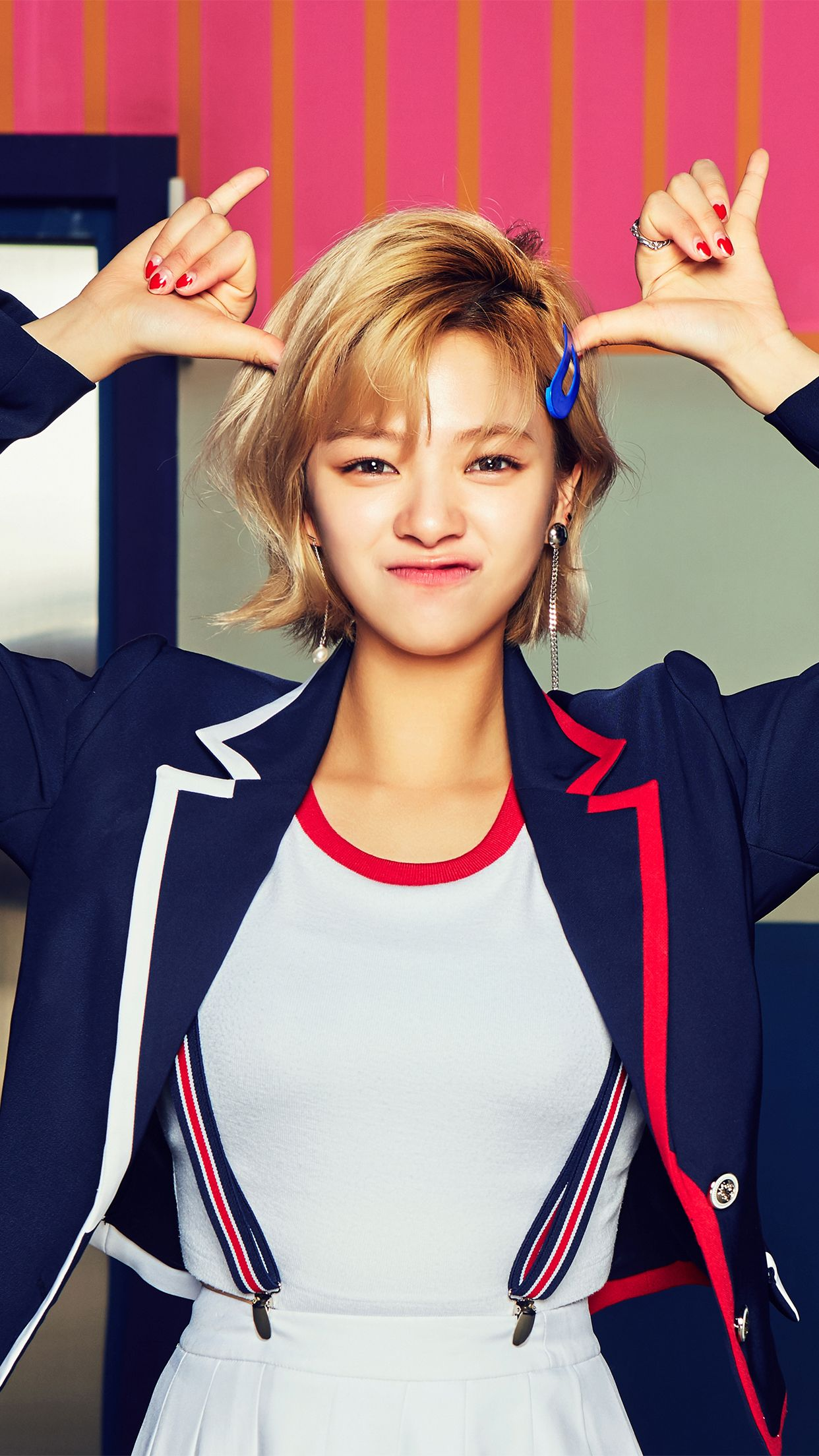 iPhone Wallpaper TWICE YooJeongYeon JeongYeon 1242x2208