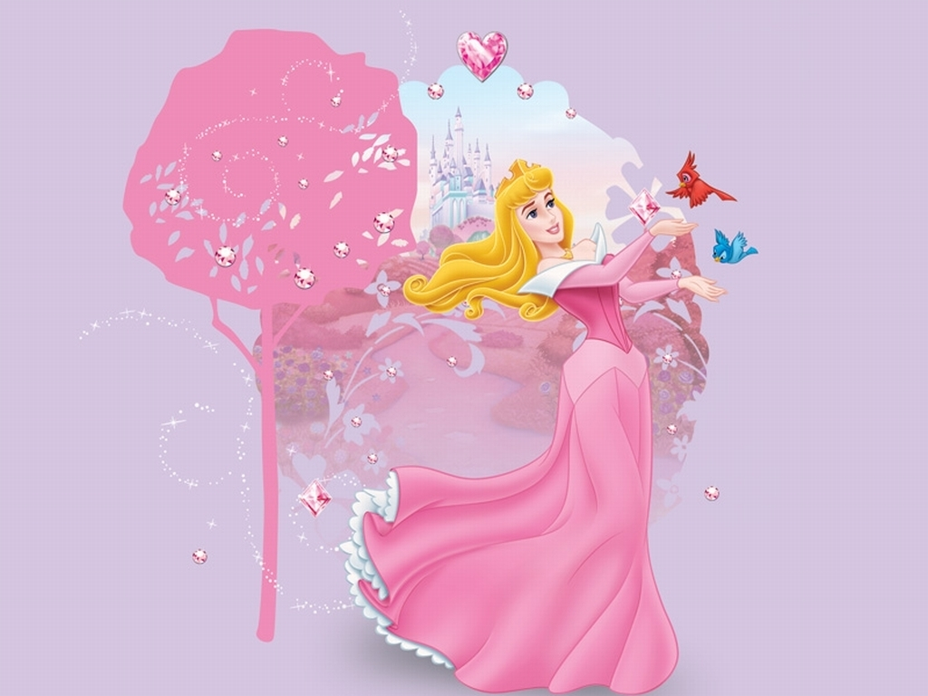 Disney Princess Aurora Wallpaper 1024x768