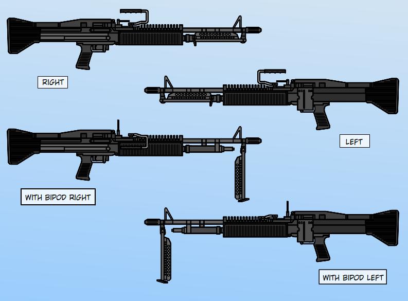 M60 Machine Gun Wallpaper Props   m60 machine gun 793x585