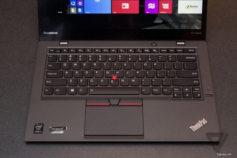 Tin tc Lenovo ThinkPads X1 CarbonDn u on siu phm 1000x666