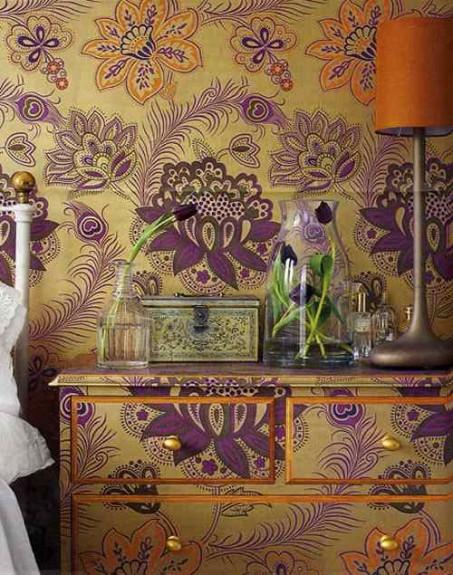 wallpaper decorating furniture 2016   White Brick Wallpaper 453x575