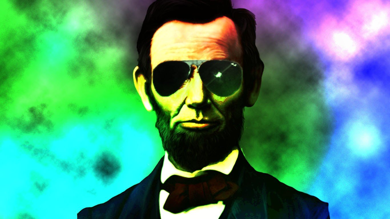 Abraham Lincoln wallpaper   ForWallpapercom 1366x768