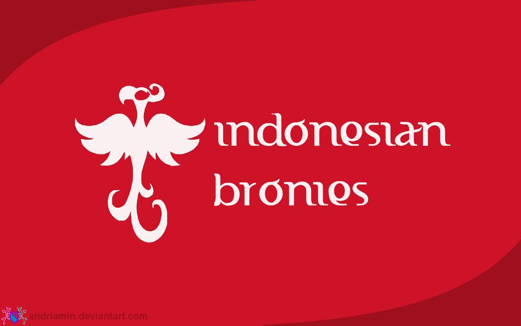 Indonesian Bronies Wallpaper by Andriamin 1024x640