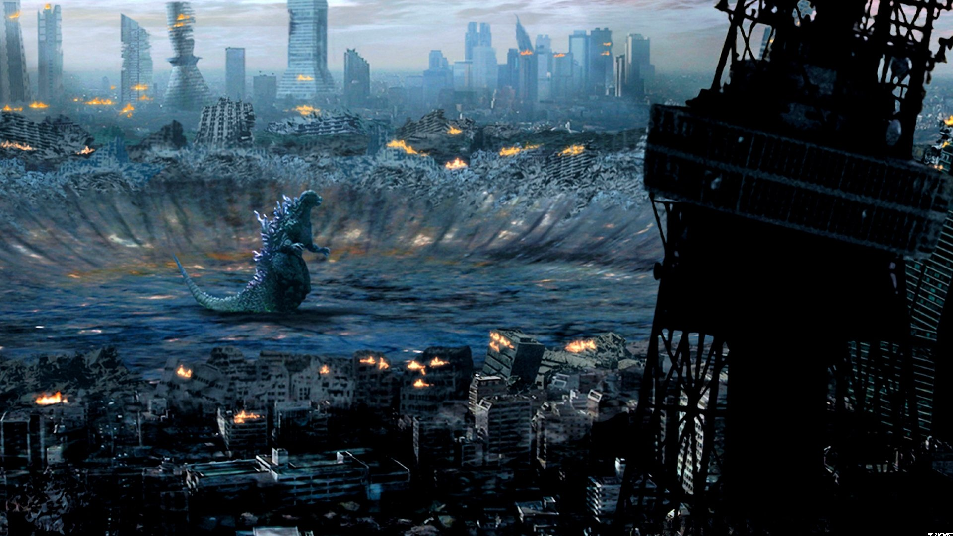 Godzilla Computer Wallpapers Desktop Backgrounds 1920x1080