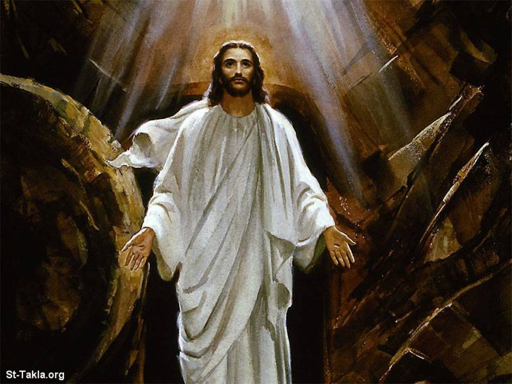 Jesus Resurrection Wallpaper 550x412 Jesus Resurrection Wallpaper 1024x768