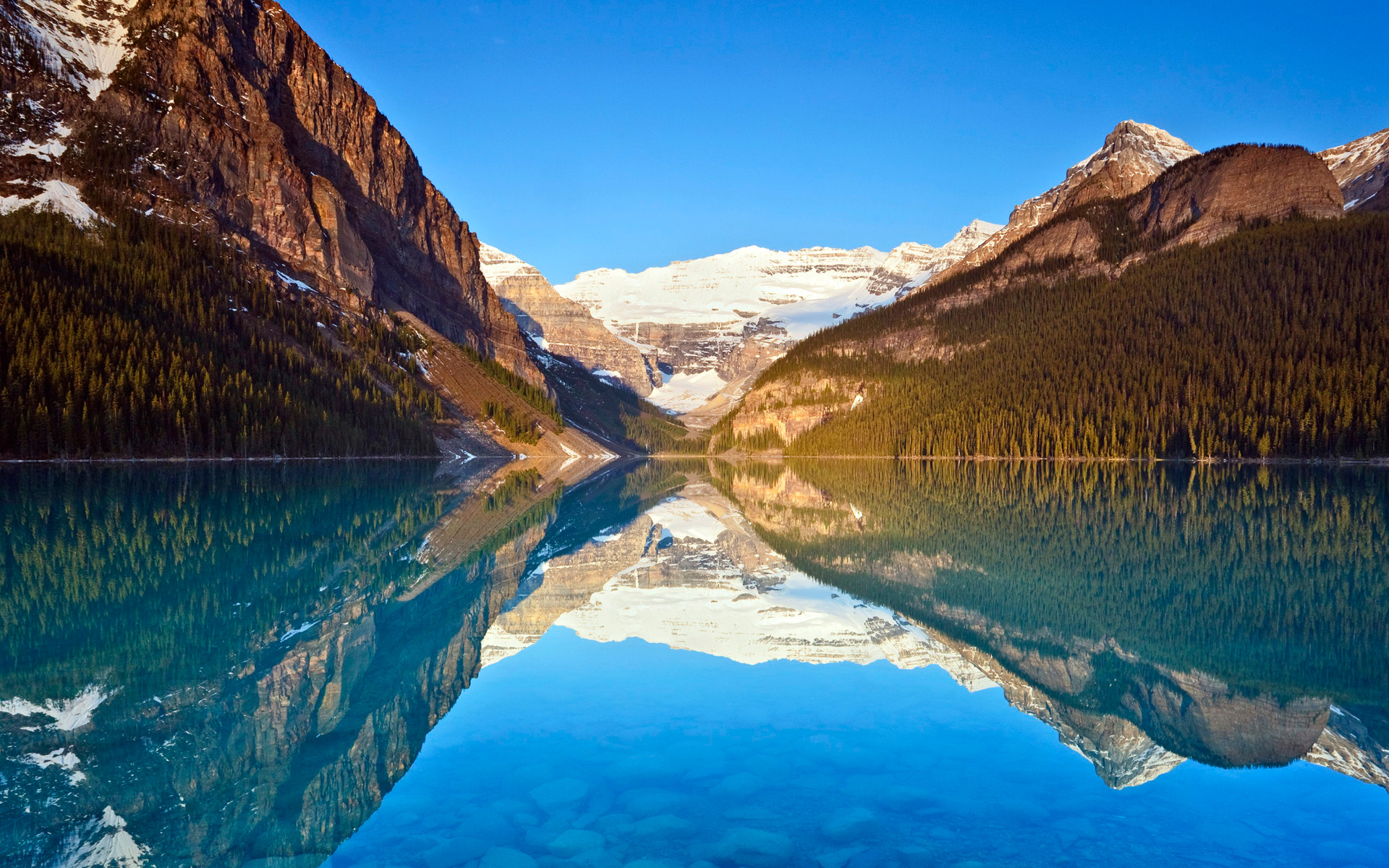Lake Louise Reflections Wallpapers HD Wallpapers 1920x1200