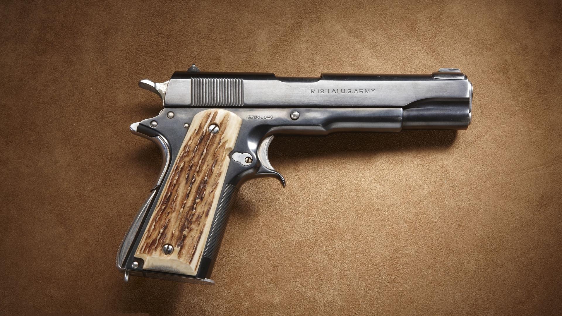 Colt 1911 Pistol Computer Wallpapers Desktop Backgrounds 1920x1080 1920x1080