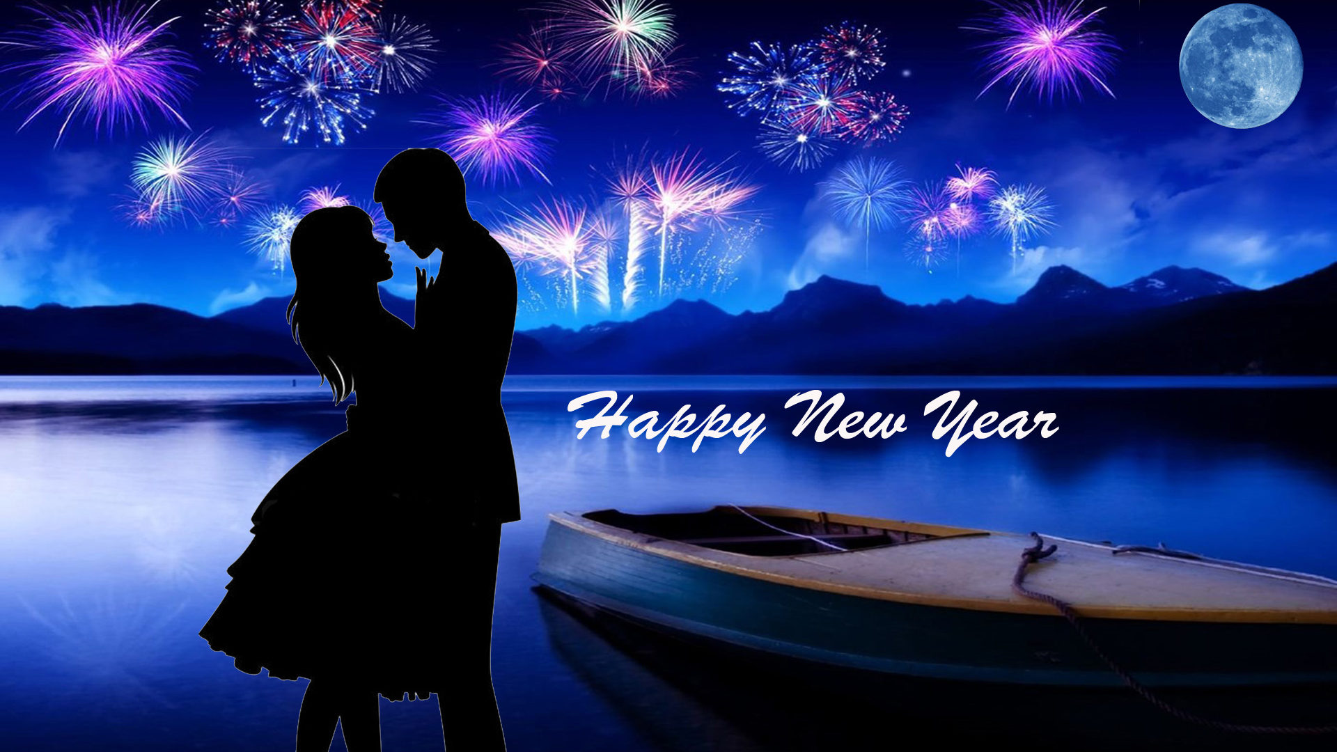 Happy New Year 2020 I Love You Greeting Cards Christmas Desktop Hd 1920x1080