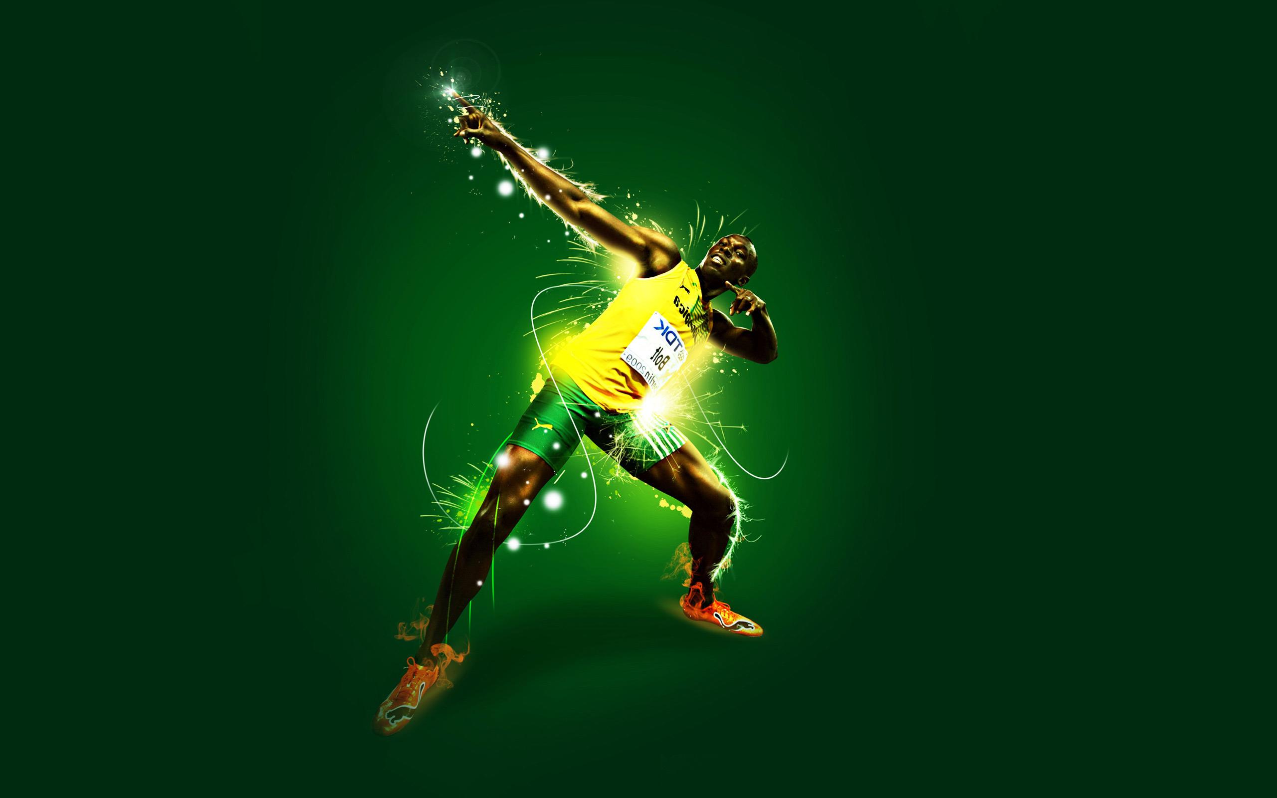Usain Bolt Wallpaper Welcome to jahjastarz 2560x1600