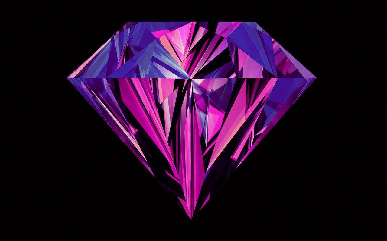 Purple Diamonds Live Wallpaper 10 screenshot 5 1280x800