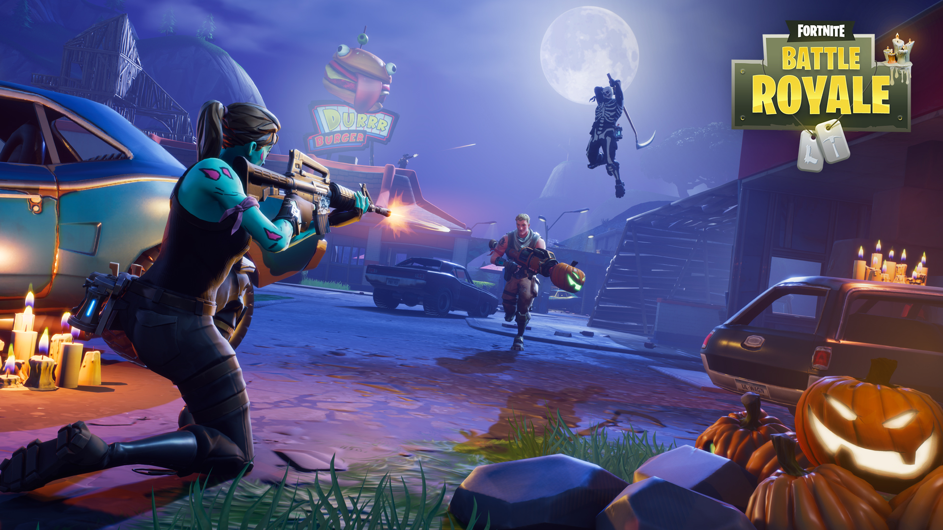 Fortnite Battle Royale Game Wallpaper 62258 1920x1080 px 1920x1080