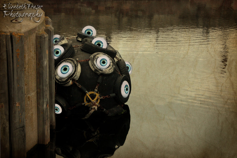 Water Monster by Liz Fraser 900x600