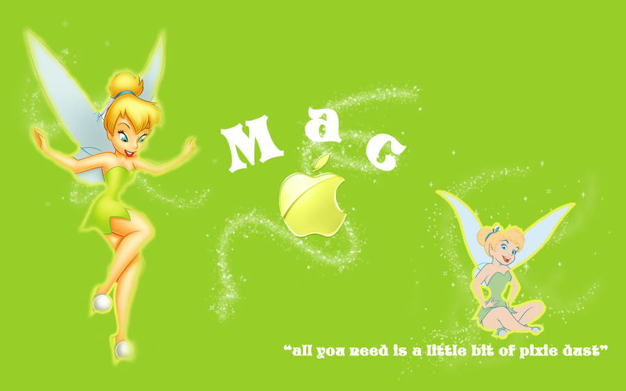 Tinkerbell Mac Wallpaper By Xmcpheeverx 900x563
