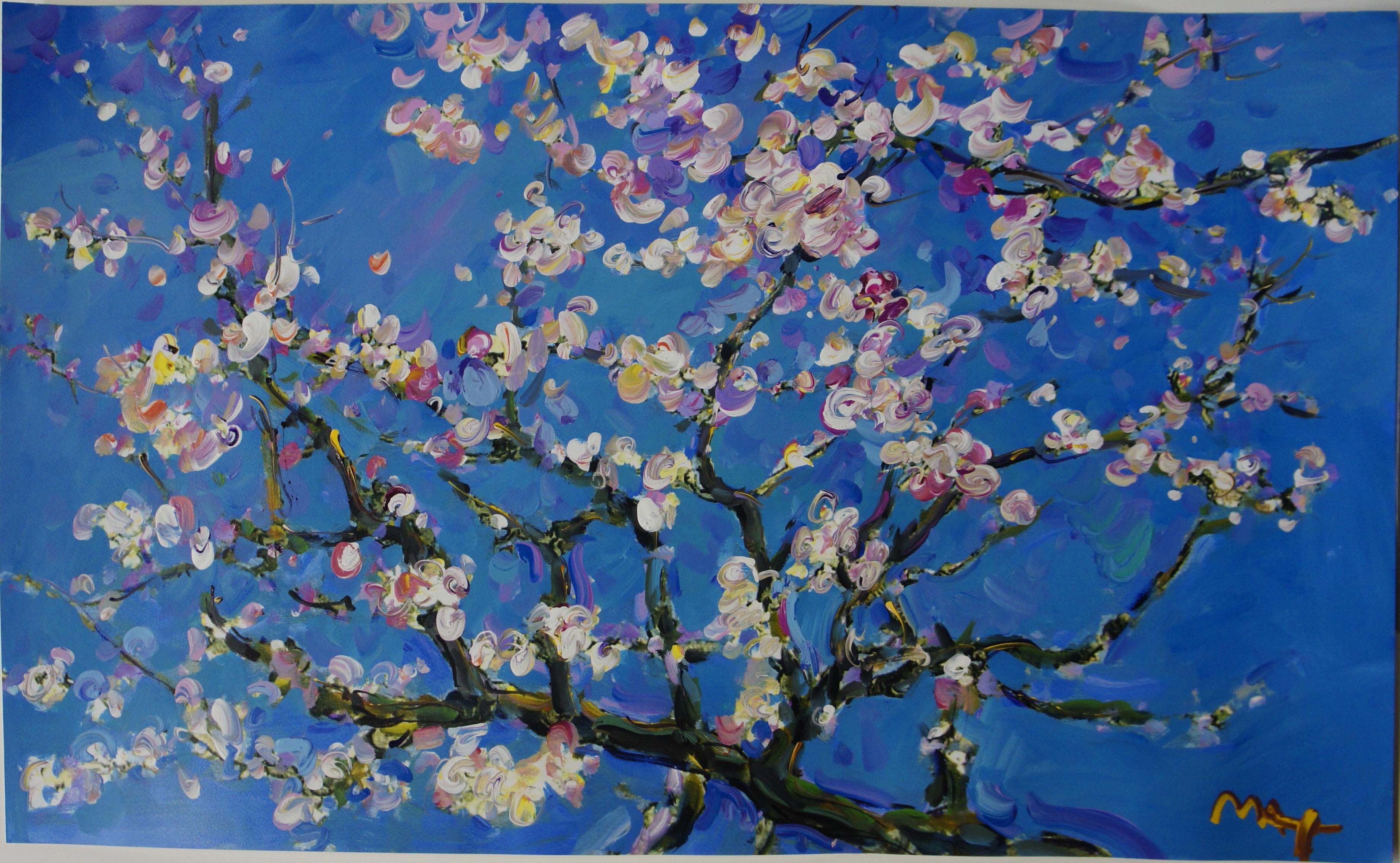 Homage to Van Gogh  Almond Blossom Ver II 3 3684x2272