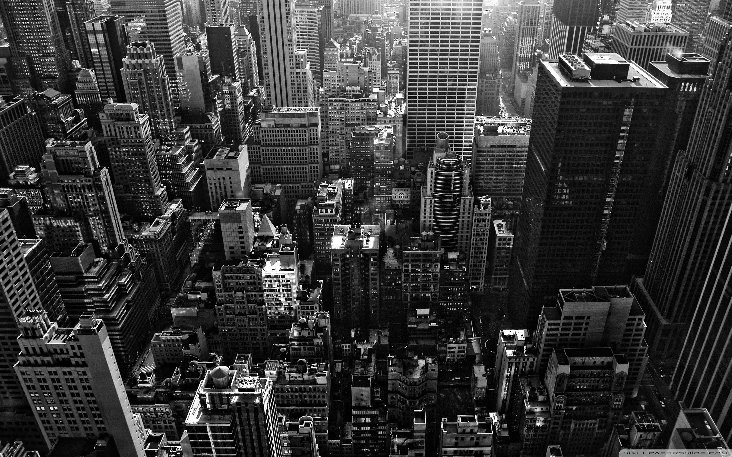 New York City Wallpapers   Full HD BW 4k wallpaper Desktop 2560x1600