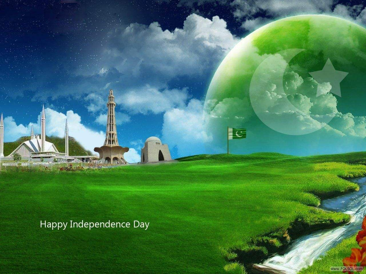 14 August Independence Day of Pakistan HD Wallpapers 1280x960