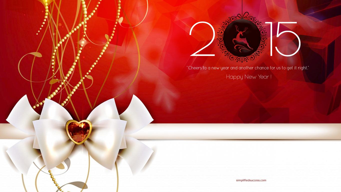 Happy New Year 2015 Full HD Wallpaper Download Download 1366x768