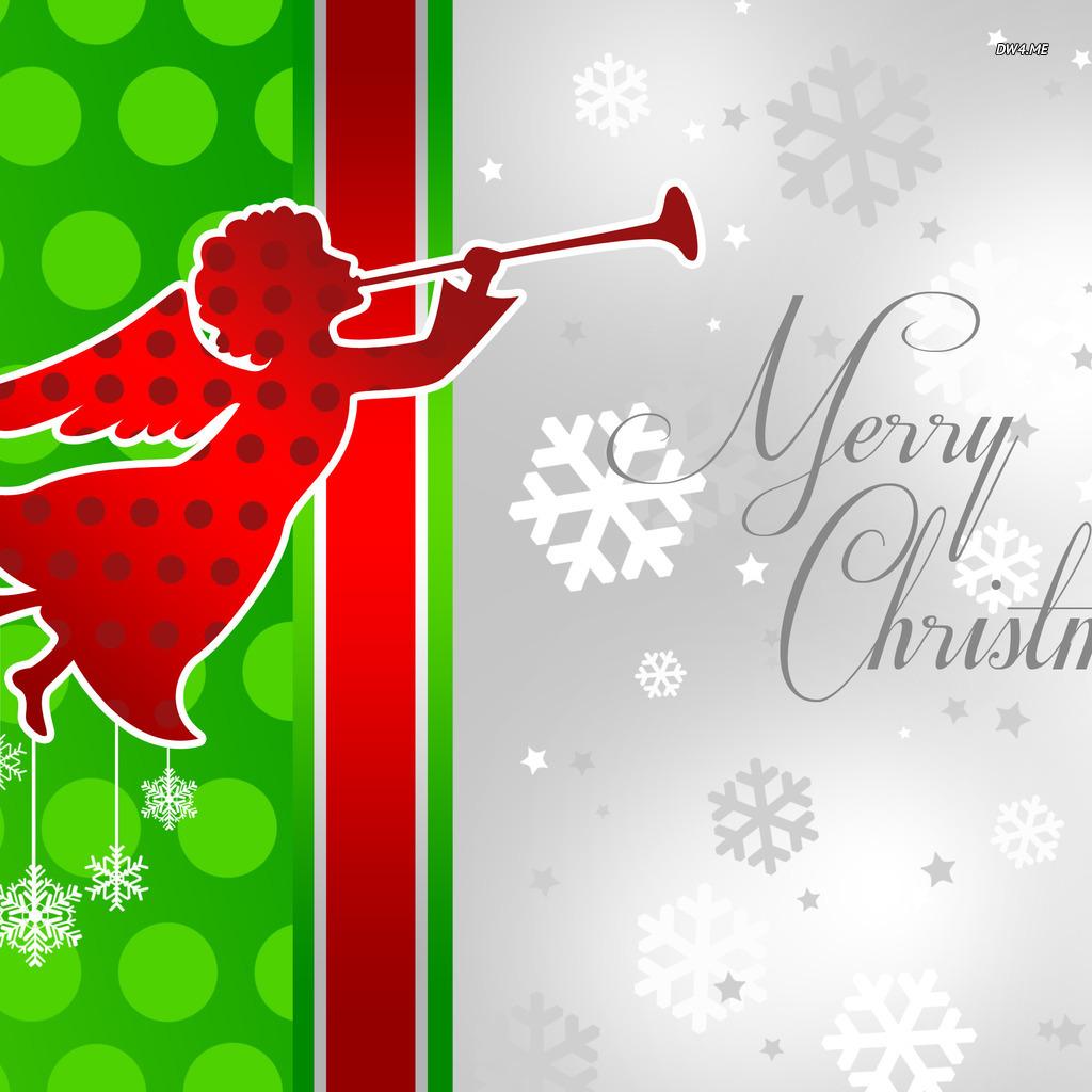 Christmas angel wallpaper   Holiday wallpapers   1987 1024x1024