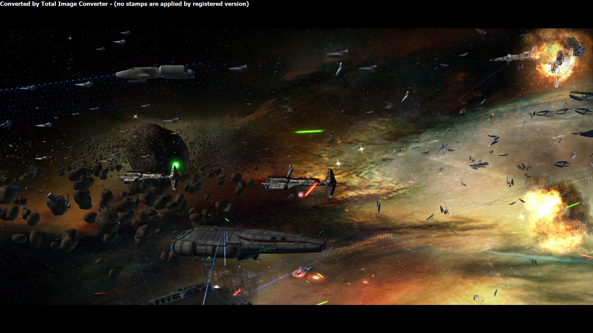 The most epic battle image   Old Republic at War mod for Star Wars 1920x1080