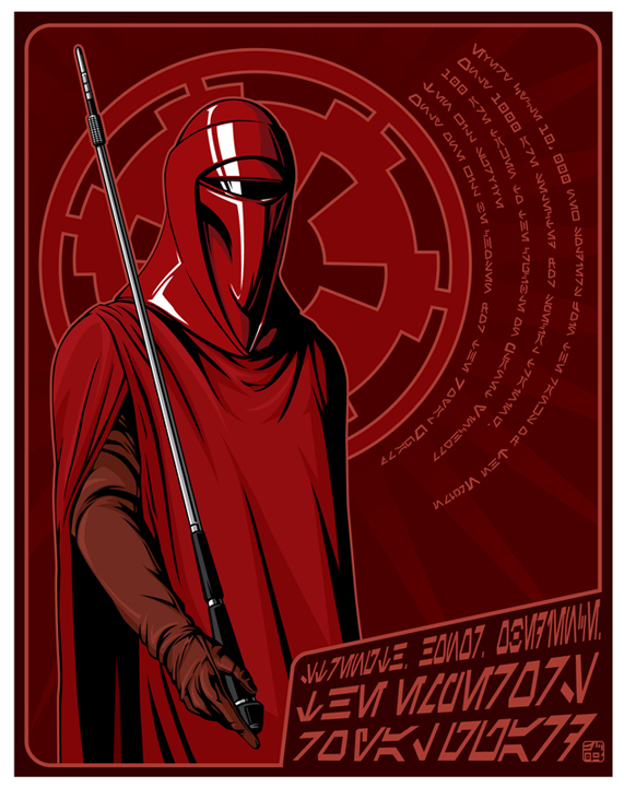 Star Wars Imperial Guard Wallpaper Royal guard propaganda by jpc 571x720