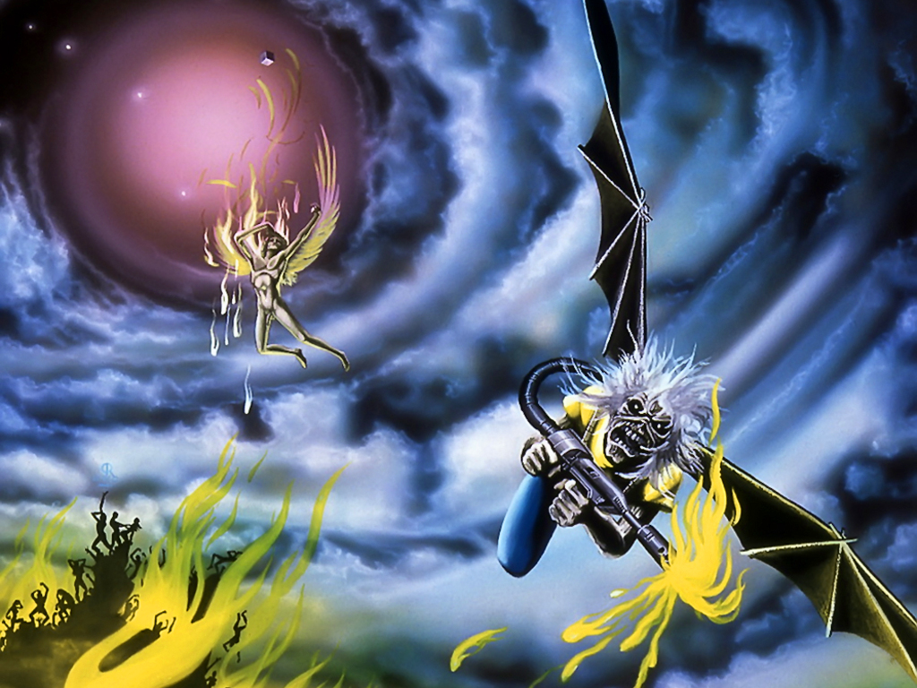 Iron Maiden Wallpapers High Resolution Wallpapersafari