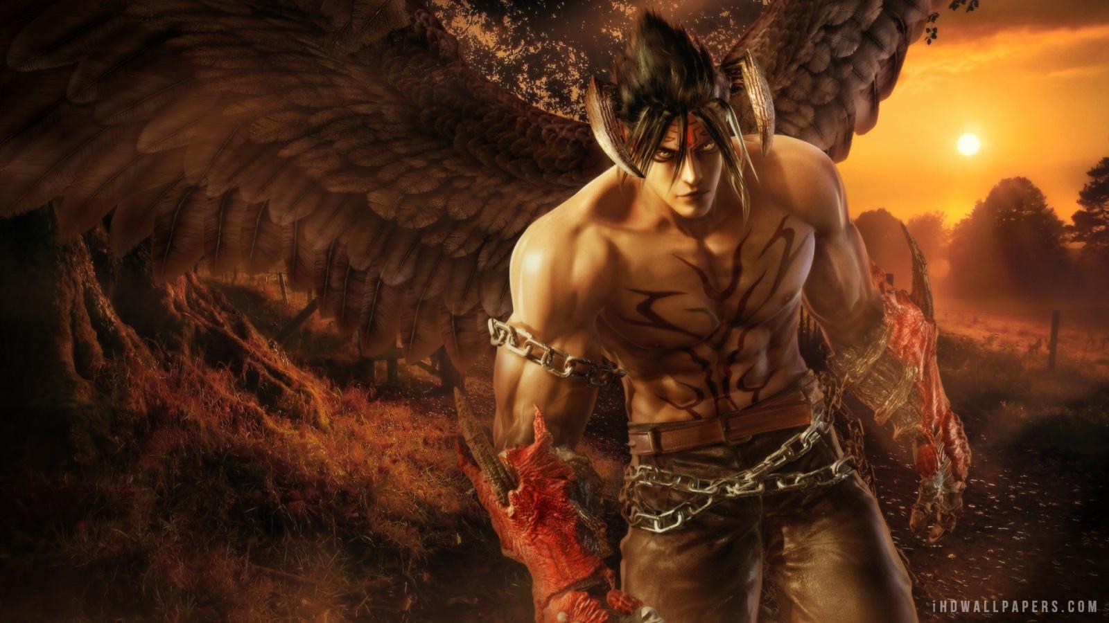 Devil Jin Wallpaper 1600x900