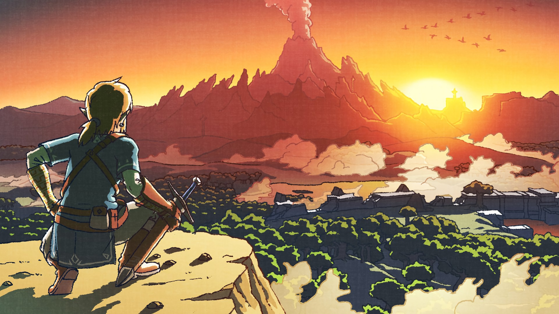 Free Download The Legend Of Zelda Breath Of The Wild Full Hd