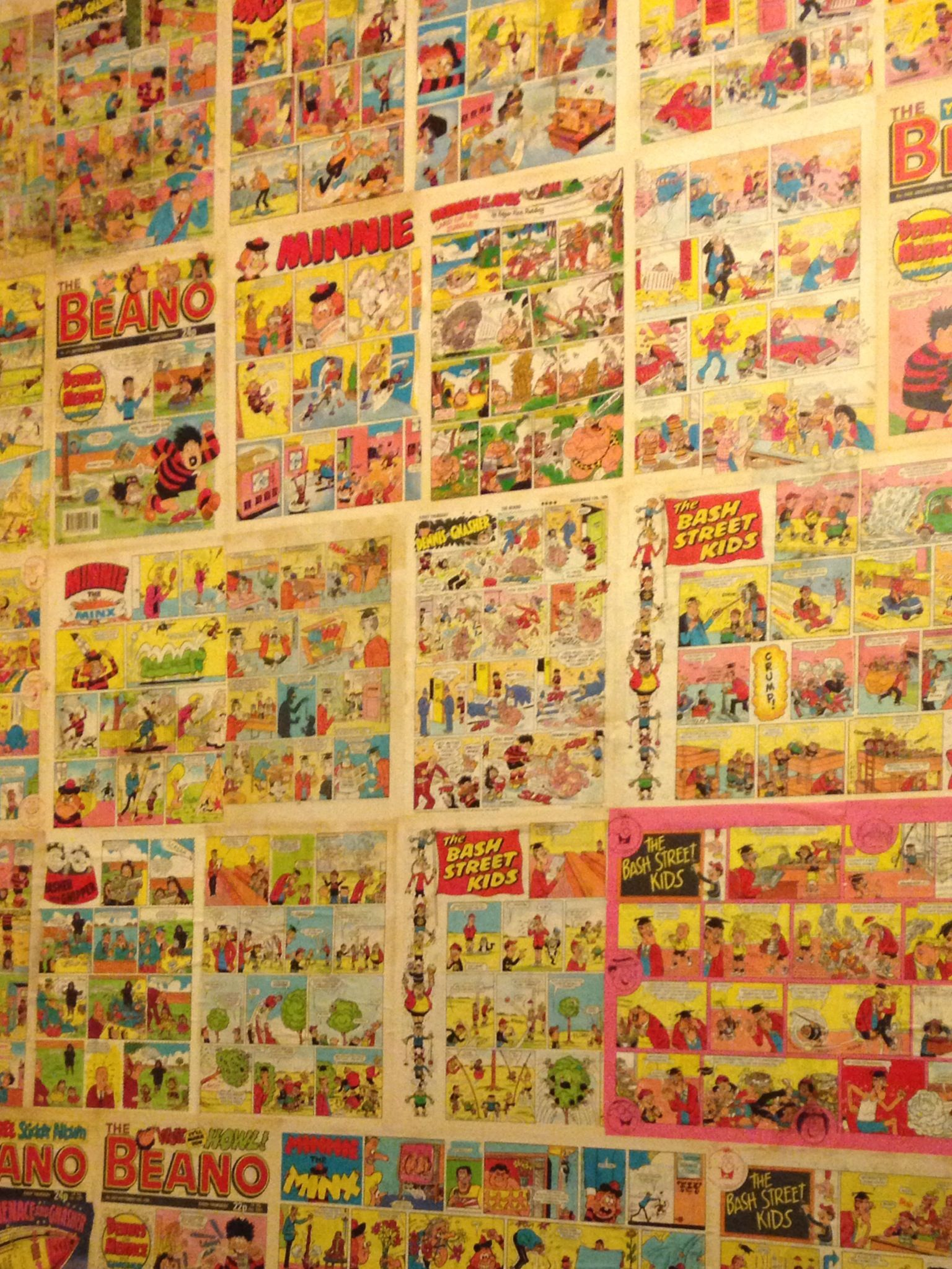 Vintage beano comics as wallpaper Comics Readtimes over 1536x2047