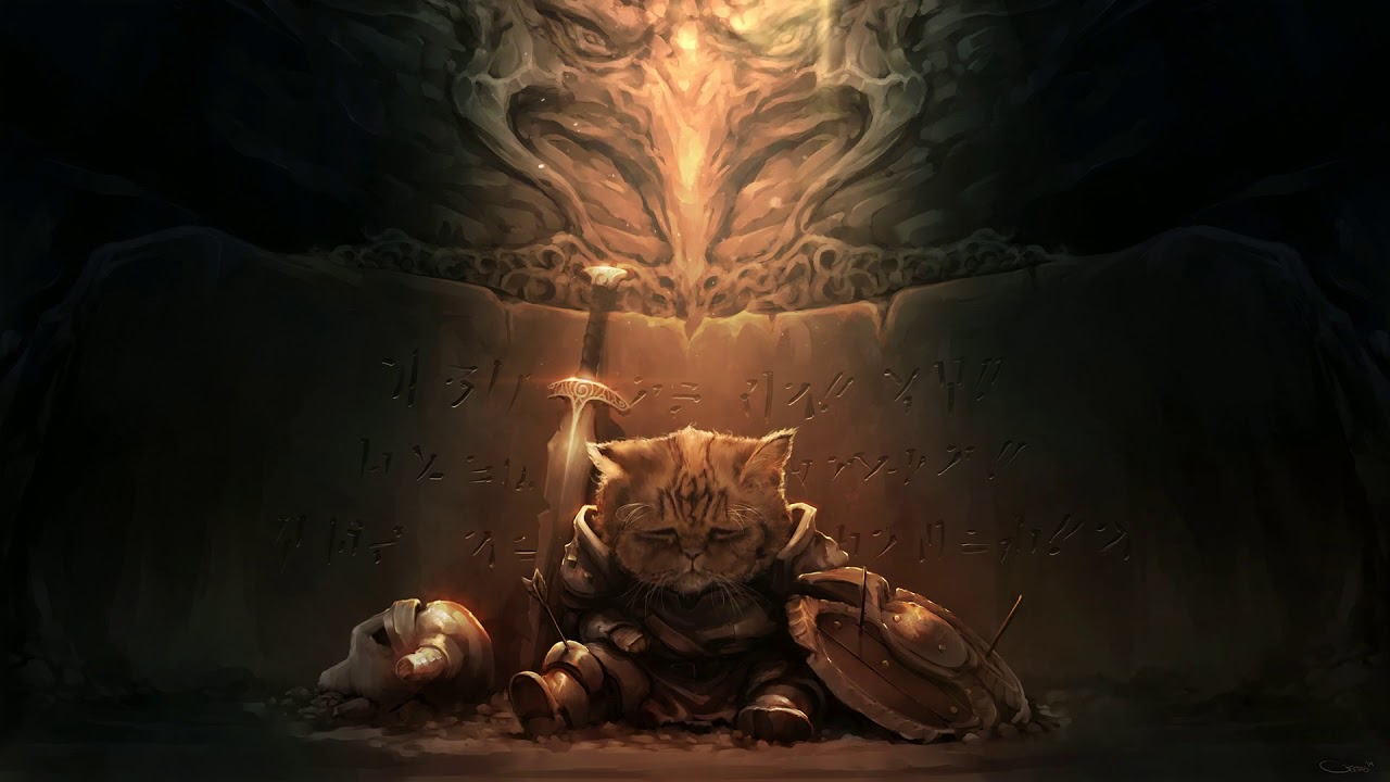 Saddest Khajit wallpaper wallpaper engine 1280x720