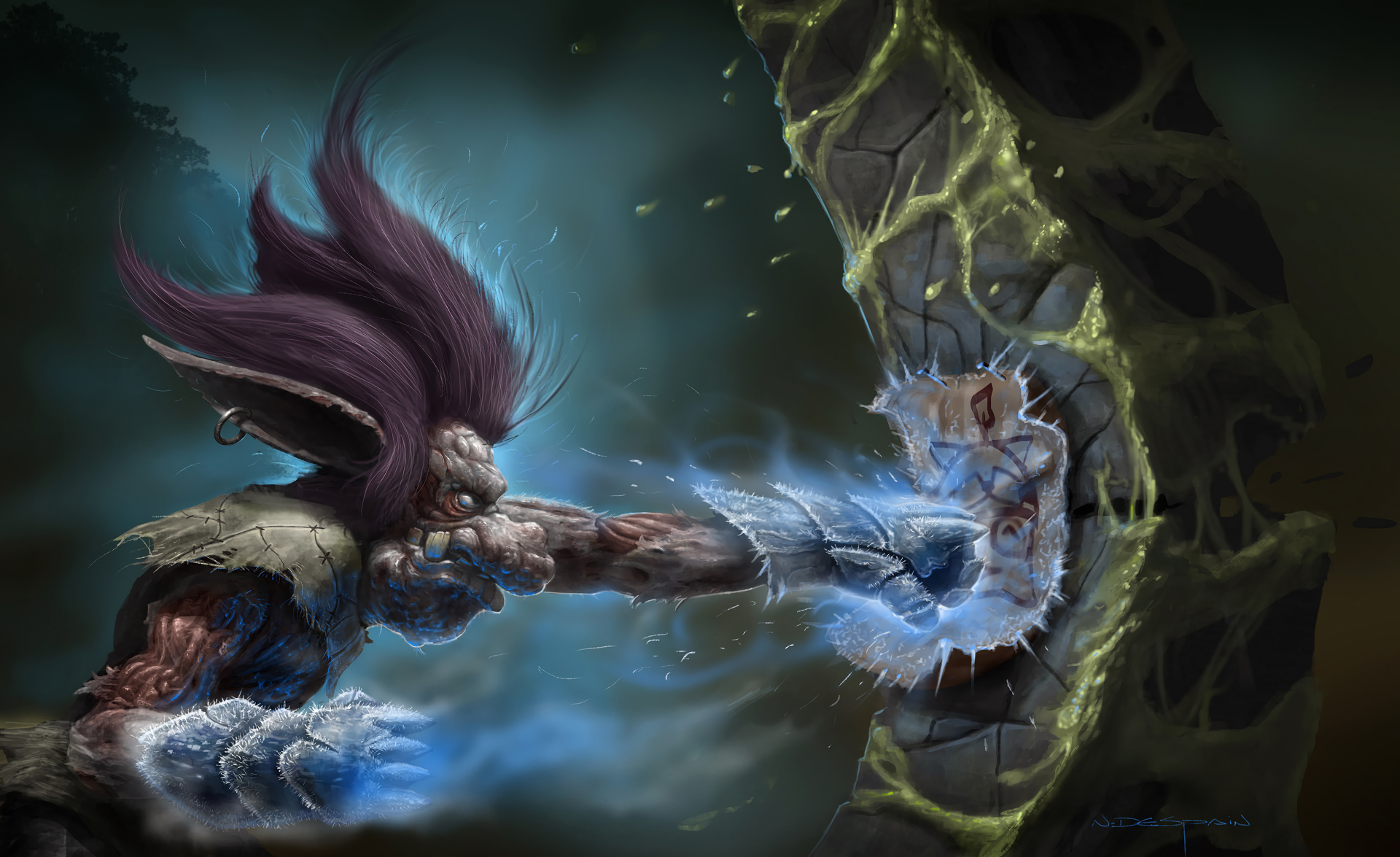 Trundle with Iceborn Gauntlet LoL Wallpapers 1920x1175