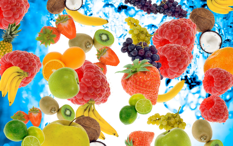 Fruit wallpaper Raspberry Kiwi 2880x1800