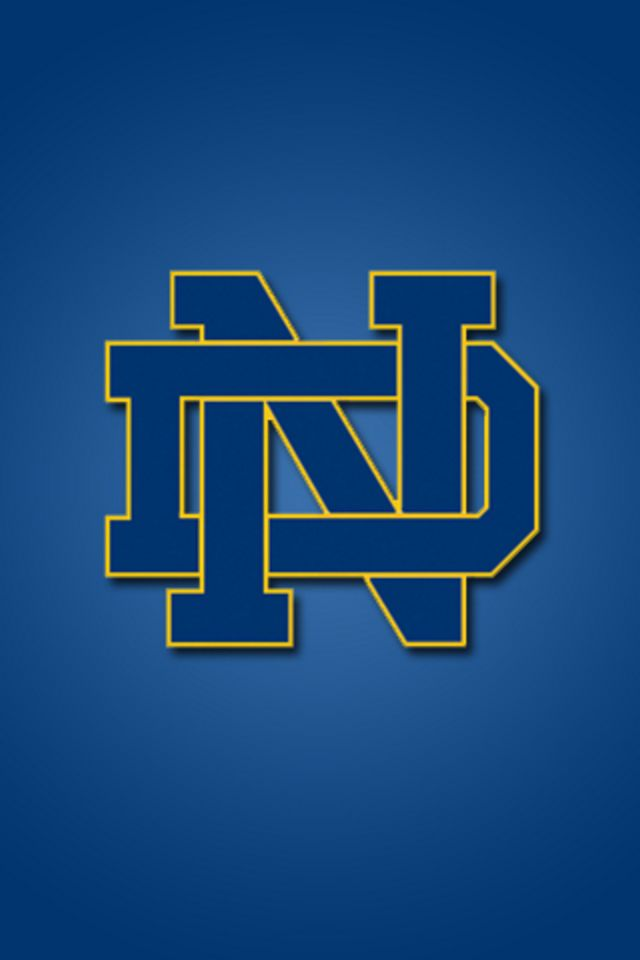 Notre Dame Fighting Irish iPhone Wallpaper HD 640x960