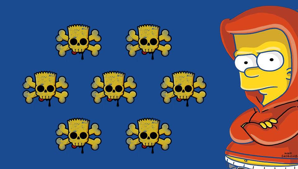 Bart Simpson PS Vita Wallpapers   PS Vita Themes and Wallpapers 960x544