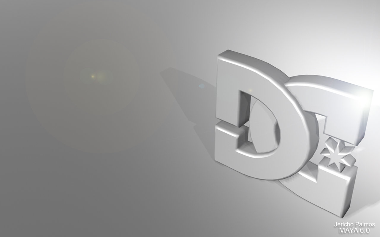 DC Shoe Logo by jpalmos 1280x800