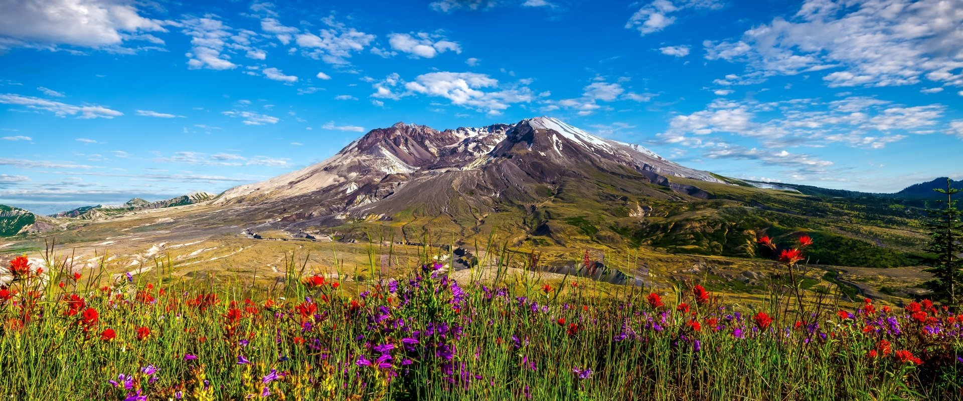 4 Mount St Helens HD Wallpapers Background Images 1920x801