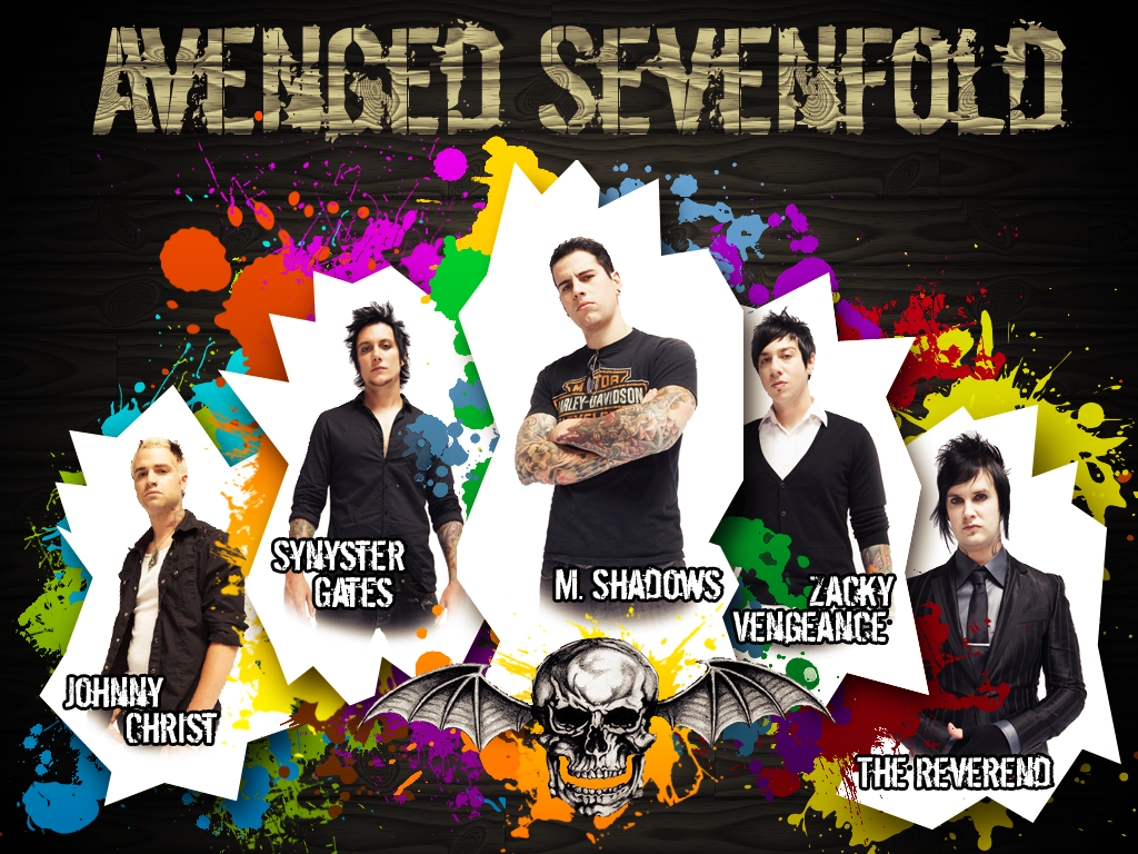 Wallpaper Avenged Sevenfold My image 1024x768
